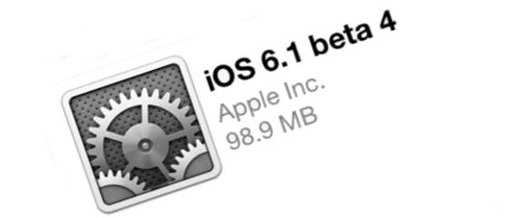 iOS 6.1 beta 4