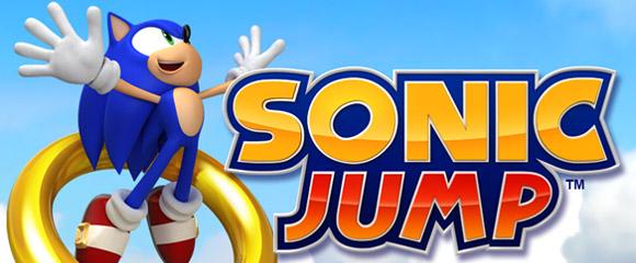 sonic jump app jogo