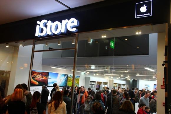 abertura da iStore NorteShopping 10
