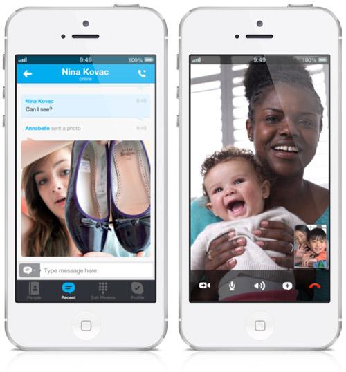 skype 4.6 iphone app