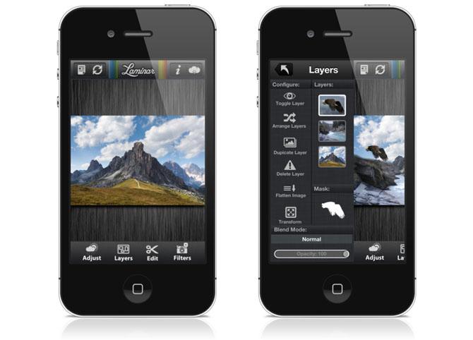 Laminar (for iPhone) – Image Editor app 2