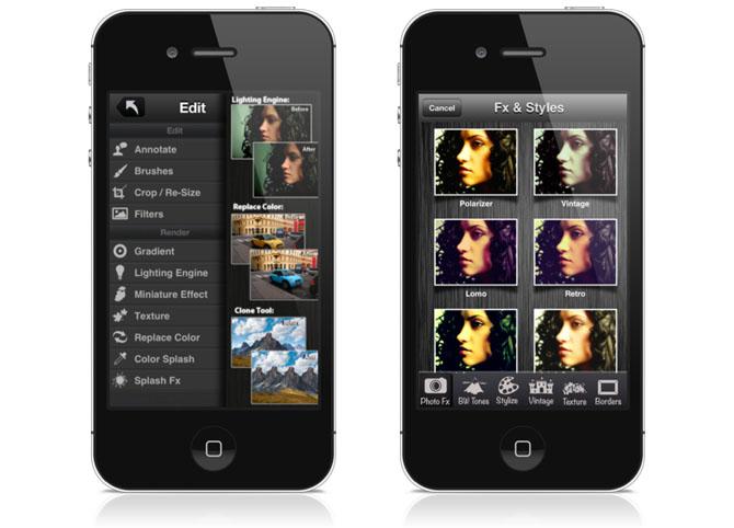 Laminar (for iPhone) – Image Editor app