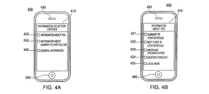 apple patentes chamadas em espera