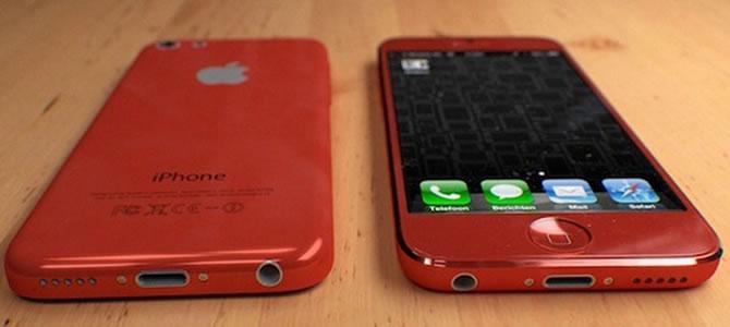 Possível aspecto iPhone Low Cost