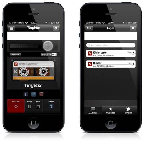 tinyvox app