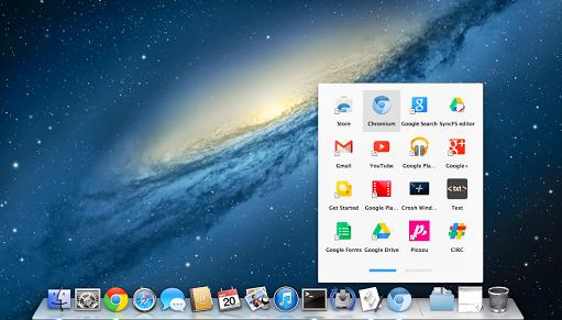 Chrome App Launcher OSX