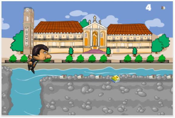 Screenshot de Apanha o Canudo