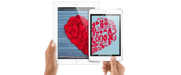 iPad valentim