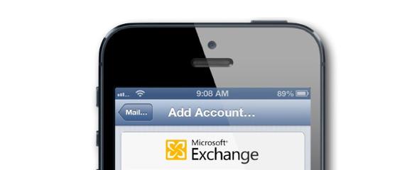 iOS Microsoft Exchange