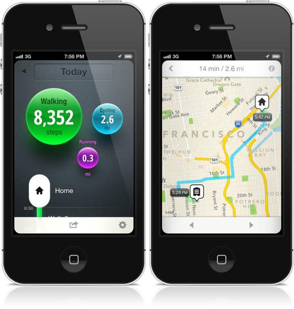 moves app screens
