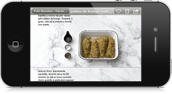 the photo cookbook app