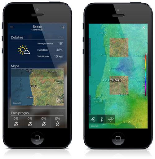 Yahoo Weather app 3