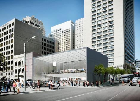 Nova Apple-Store São Francisco