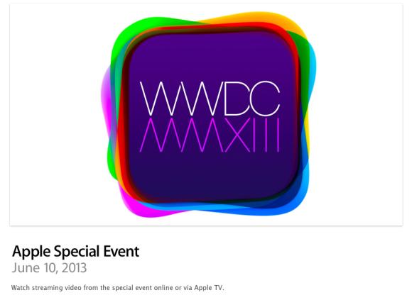 WWDC 2013 Live