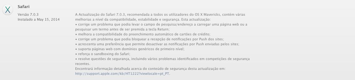 Safari 7.0.3