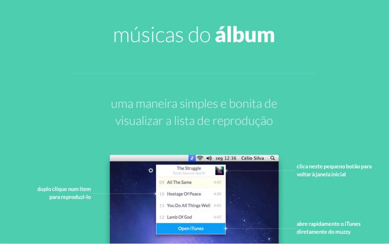Músicas do álbum - Muzzy