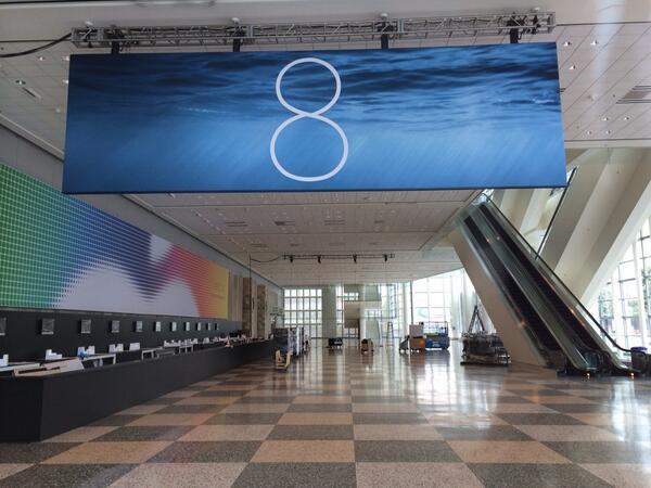 iOS 8 Cartaz WWDC