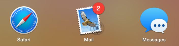 Melhorias no design dos ícones na lista de aplicações