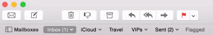 Redesenho da aplicação Mail