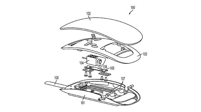 Magic Mouse Patente