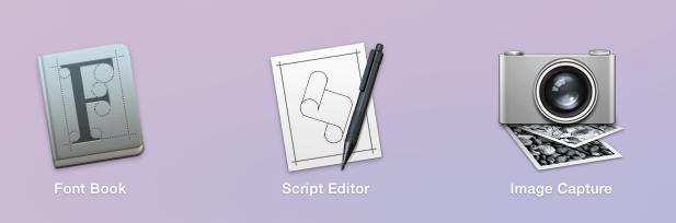 Novos ícones