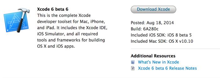 Xcode-6-beta-6